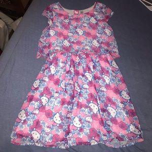 Hello Kitty girls dress size 10-12